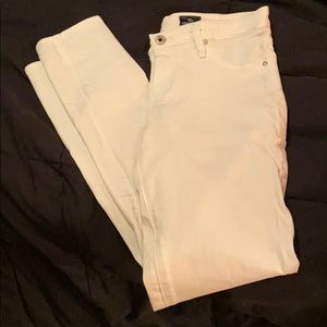 White AG jeans size 28 and in GREAT condition